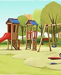 儿童梦幻乐园插画欣赏