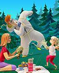 家庭健康插图欣赏