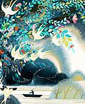 飞鸟集―美国插画师Kuri Huang作品