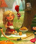 Green Riding Hood俄罗斯Ipad App最佳应用插图