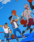 《潮人篮球》游戏插图设计