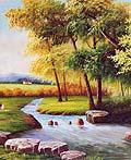 20幅美丽的顶级艺术家的风景油画艺术作品