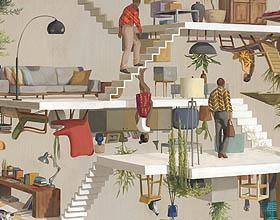 艺术家Cinta Vidal的无重力幻想生活插图