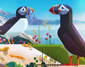 英国James Gilleard插画设计作品欣赏