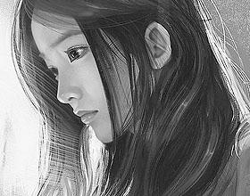 16幅少女肖像插画作品欣赏