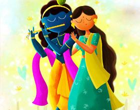 15幅印度女神插图欣赏