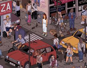 纽约插画师Ilya Milstein插画作品欣赏