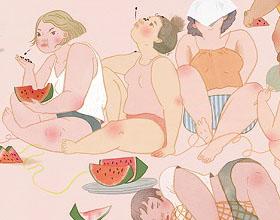 不同文化中的女郎插图欣赏