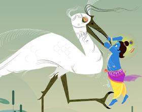 数字插图中的印度神艺术作品