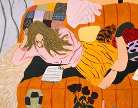 爱沙尼亚艺术家Liisa Krausmagi插画作品