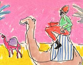 插图画家伊莎贝拉・科蒂尔的有趣人物穿着插画作品欣赏