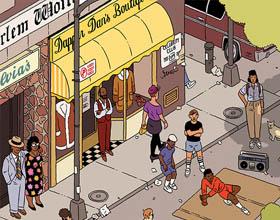 纽约时报时尚杂志80年代纽约的幻想