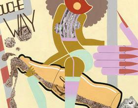 多伦多插画家Sarah Alinia Ziazi的怪异眩晕插画作品