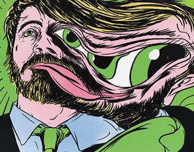 Steven Soderbergh的《马赛克》人物插画欣赏