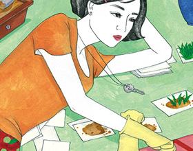 中国台北插画家陈薇薇的日常生活插图作品