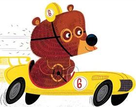 40幅有趣的搞笑熊插画作品