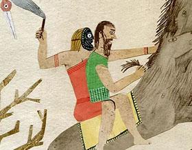 智利Cristóbal Schmal的古老故事剪贴鲜艳插画作品
