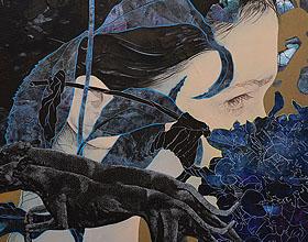 美丽的罗马尼亚艺术家Alina-Ondine Slimovschi插画作品