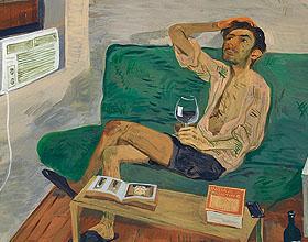 男人的想象生活―艺术家Salman Toor绘画作品