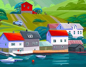 34幅国外插画师tubik插图设计作品欣赏