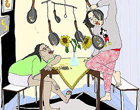 生活的反讽,汉堡Johanna Ploch幽默插图欣赏
