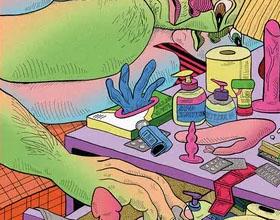 《越界》世界49位最好插画家新冠禁闭期间的想象性体验