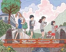 纯真童年―韩国插画师oheat01插画设计作品
