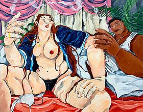 西班牙艺术家Cristina BanBan's的展览画作