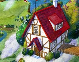 梦幻童话 ―俄罗斯插画师Galya Sakovskaya儿童插画