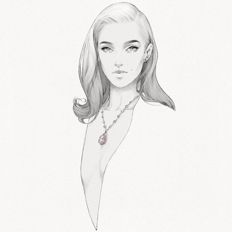 新加坡Alex Tang时尚女性人物<a href=http://www.ccdol.com/sheji/chahua/ target=_blank class=infotextkey>插画</a>欣赏