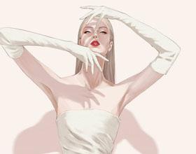 新加坡Alex Tang时尚女性人物插画欣赏