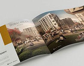 DUBAI HILLS项目地产楼书设计