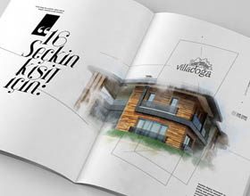 Villadoga住宅地产楼书设计
