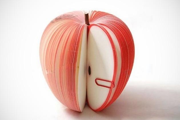 创意苹果形备忘记事本