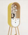 莫斯科Aotta Studio工作室可爱的胶囊式厨房家具设计