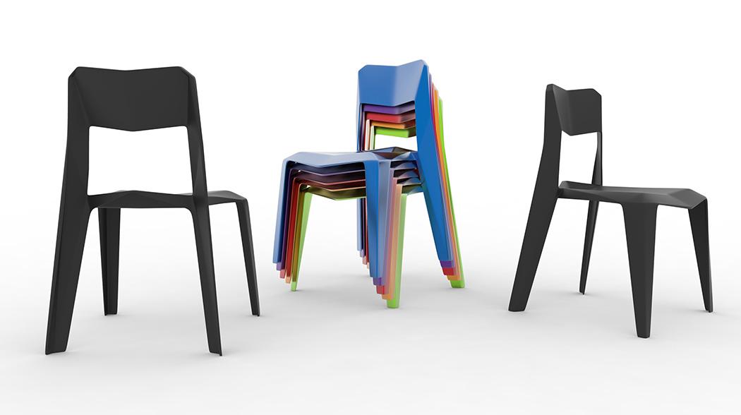 一次成型的个性座椅