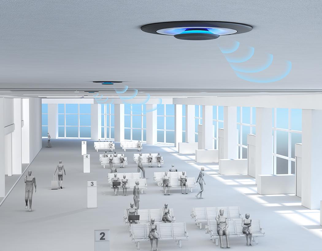 LampSite――提供高速4G和Wi-Fi服务智能基站