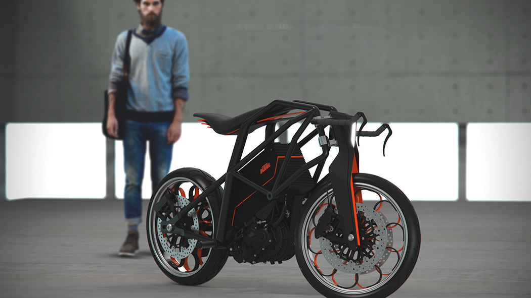 Is it a bike? A motorcycle? Confused?
