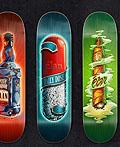 32个美丽的冲浪滑雪和滑板设计