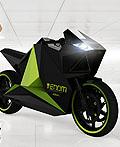 VENOM混合动力电动摩托车