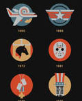 派拉蒙成立100周年海报设计
