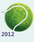 2012温布尔登网球公开赛官方海报设计