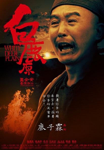 dkm中国设计在线-白鹿原 最新人物海报设计图片