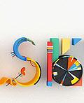 康定斯基风格的抽象海报设计