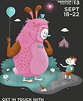 渥太华国际动画电影节海报设计