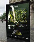 电子音乐节海报设计