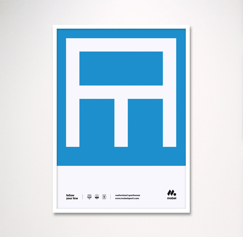 Mobel运动海报设计