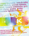 Kudos Beach 2008海报设计