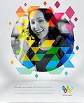 40幅创意几何风格海报设计灵感