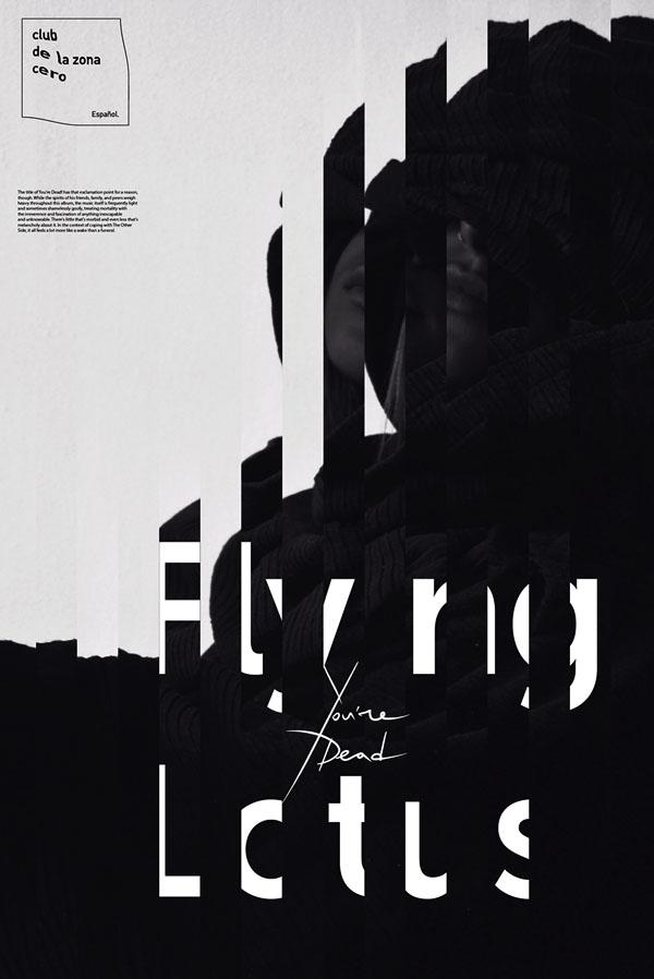 Flying Lotus乐队视觉海报欣赏
